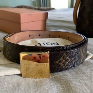 Louis Vuitton Accessories - Monogram Ceinture Carrie Belt